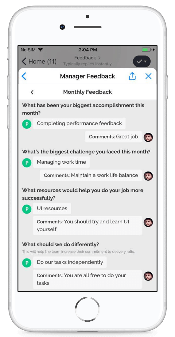 Stay ahead with dynamic real-time feedbacks!